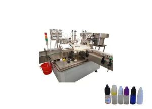 10ml - 60ml užpildymo tūrio aliejaus pildymo mašina