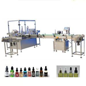 4 užpildymo purkštukų eterinio aliejaus pildymo mašina