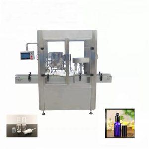 Aliuminio buteliuko purškimo buteliukų pildymo mašina