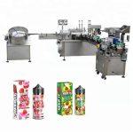 5–35 buteliai / min. Automatinis skysčių pildymo aparatas 10ml / 30ml stiklinių butelių lašintuvui