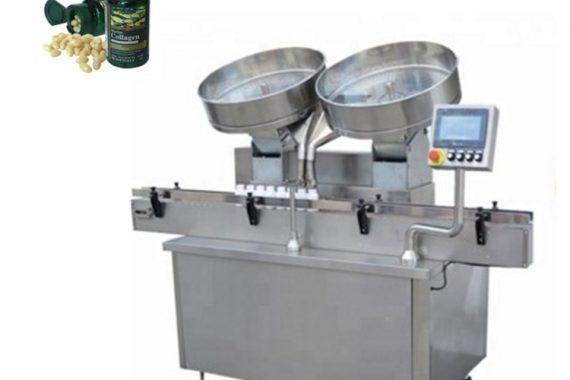 Automatinis nerūdijančio plieno tablečių kapsulių skaičiavimo užpildymo aparatas