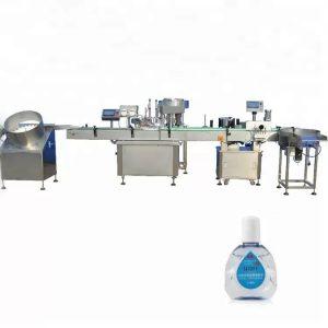Lašintuvo buteliukų pildymo mašina su dviem užpildymo galvutėmis
