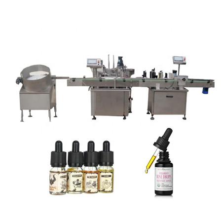 Lašintuvų butelių pildymo mašina