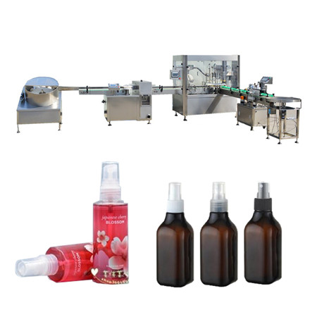 Eterinių aliejų pildymo mašina