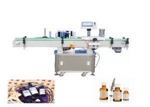 Visiškai automatinis apvalių butelių ženklinimo aparatas