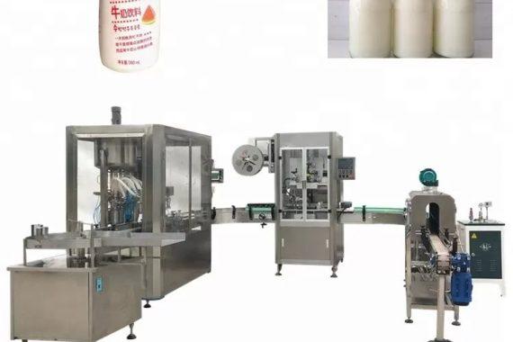 Stiklinių butelių automatinis skysčių pildymo aparatas