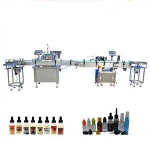 Stiklinio lašintuvo PLC valdymo elektroninė skysčių pildymo mašina