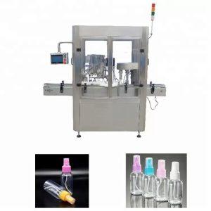 PLC valdymo sistemos kvepalų užpildymo aparatas