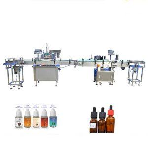 Kvepalų užpildymo aparatas lašintuvų stikliniams buteliams