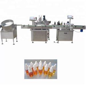 Peristaltinio siurblio eterinio aliejaus pildymo mašina