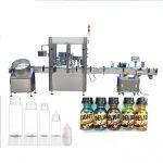 """""""Servo Motor"""" lašintuvų buteliukų pildymo mašina, jutiklinio ekrano valdymo kvepalų uždengimo mašina"""