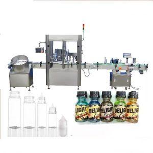 Servo variklio lašintuvo buteliukų pildymo mašina