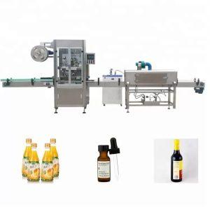 Rankovių traukiančių butelių etikečių klijavimo mašina
