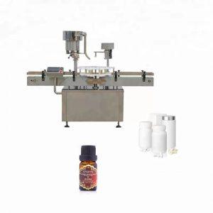 Nerūdijančio plieno butelių uždarymo mašina, naudojama medicinoje