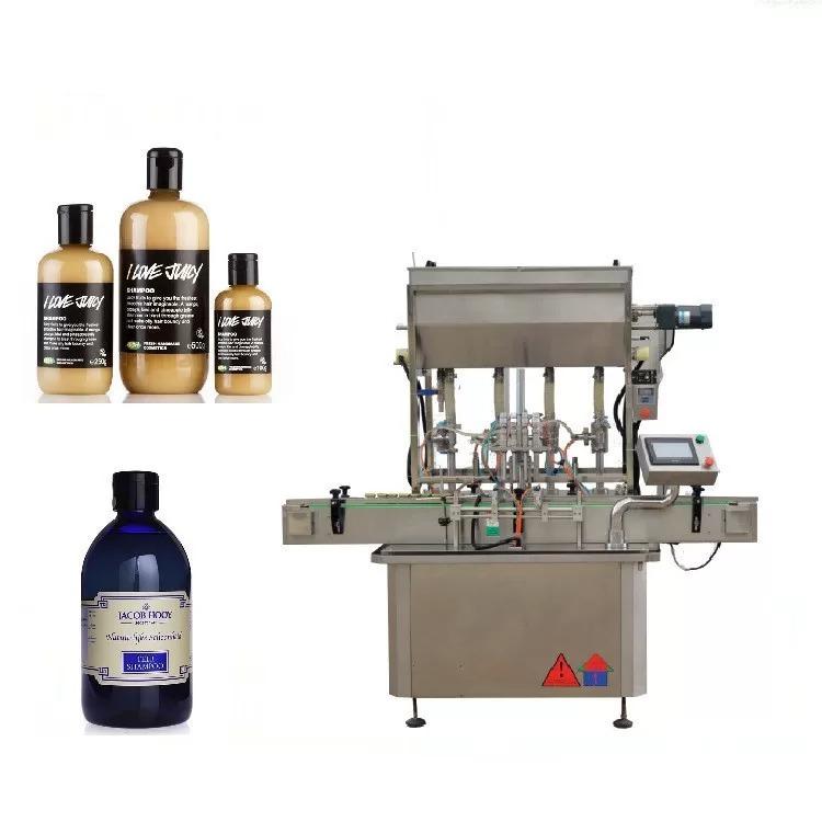 Žingsninis variklinių stiklinių butelių pildymo aparatas