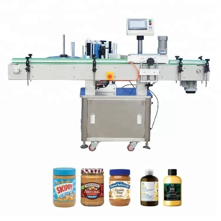 Vertikali lipni buteliukų etikečių klijavimo mašina