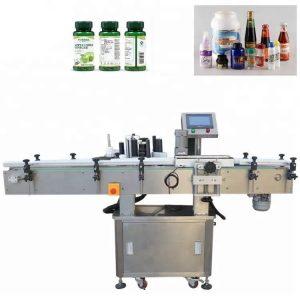 Vertikali nerūdijančio plieno buteliukų ženklinimo mašina