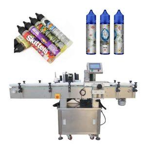 Medienos pakavimo automatinė etikečių klijavimo mašina